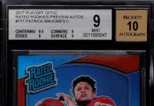 patrick mahomes rookie cards