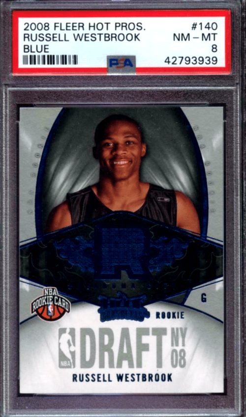 Russell Westbrook Hot Prospects rookie card
