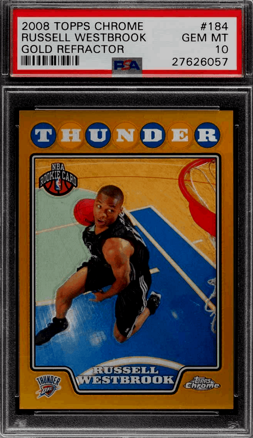 Best Russell Westbrook Rookie Cards