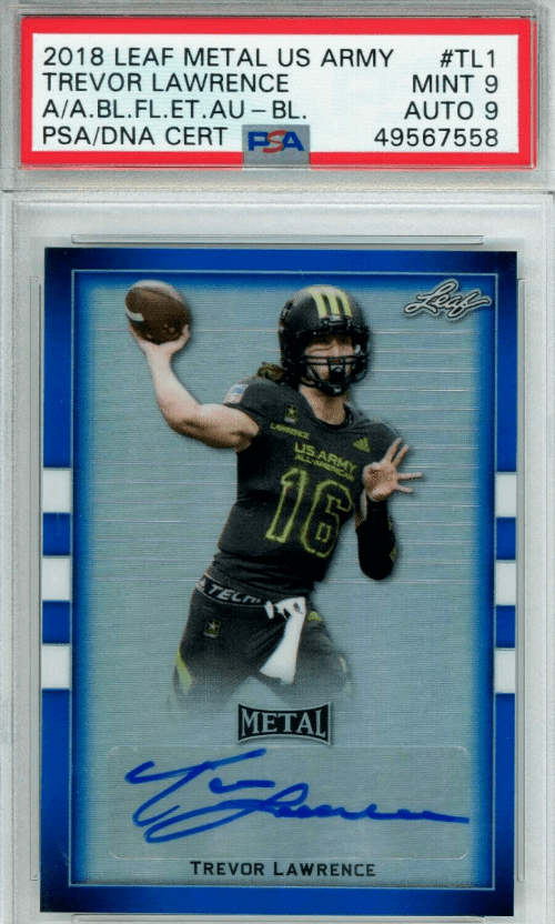 Trevor Lawrence Rookie Card Value