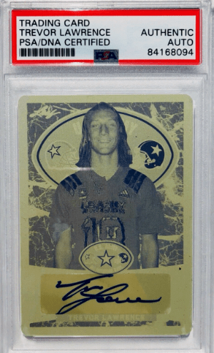 Trevor Lawrence Rookie Card Checklist