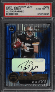 Drew Brees Rookie Card Value