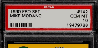 Mike Modano Rookie Card