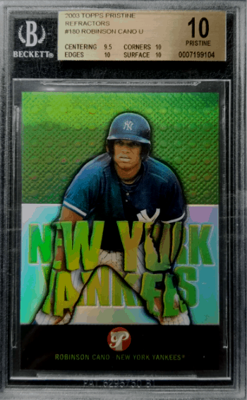 Robinson Cano Rookie Card