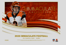 2020 Panini Immaculate Collection Football Cards