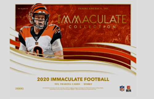 2020 Panini Immaculate Collection Football