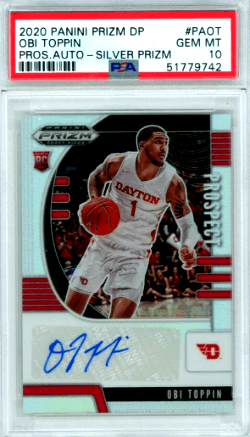 Obi Toppin Rookie Card Value