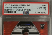 Top James Wiseman Prizm Rookie Cards