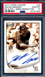 Nolan Arenado Rookie Card: Buyers Guide and Investment Outlook