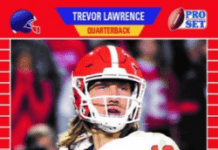 best trevor lawrence rookie cards