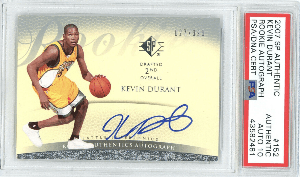 Kevin Durant Rookie Card Checklist