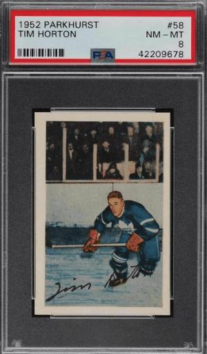 1952 Tim Horton Parkhurst