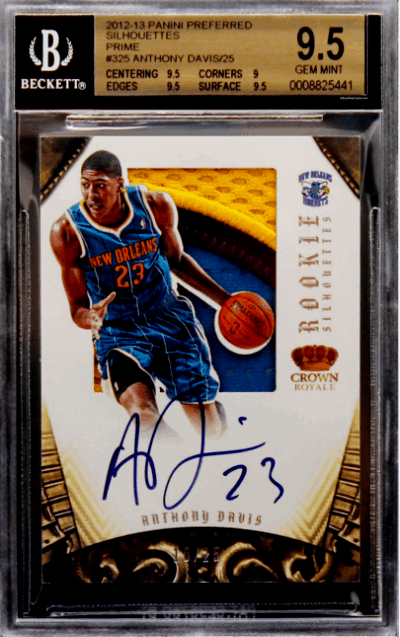 Anthony Davis Rookie Card Value
