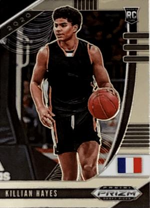 2020 Killian Hayes Prizm Draft Picks rookie card