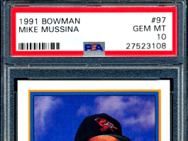 Best Mike Mussina Rookie Cards