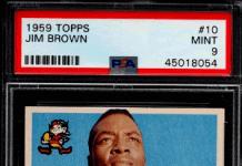 Jim Brown Football Card Value