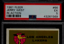 Top Jerry West Rookie Card