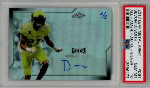best DeVonta Smith rookie cards