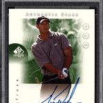 Tiger Woods rookie card for sale