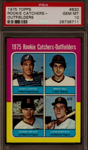 1975 Gary Carter Topps Rookie Card