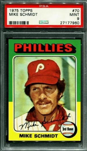 1975 Mike Schmidt Topps #70