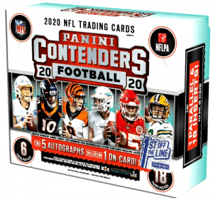 2020 Panini Contenders Football Hobby Box Review