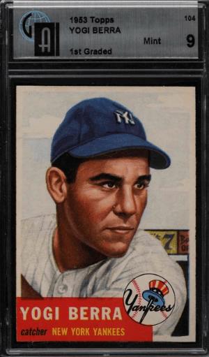 1953 Yogi Berra Topps SP