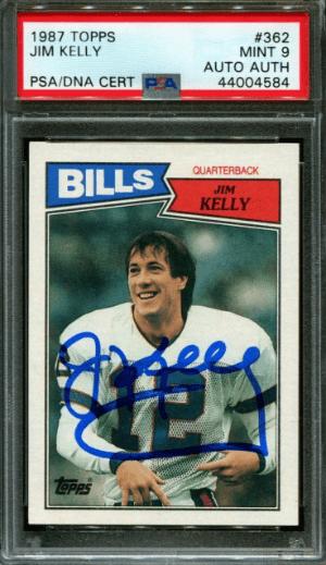 1987 Jim Kelly Topps RC #362