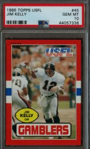 Jim Kelly Rookie Card Value