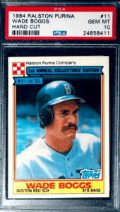 Wade Boggs Rookie Card Value