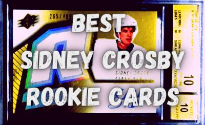 sidndey crosby rookie cards