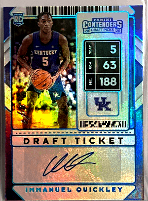 Immanuel Quickley Rookie Card Value