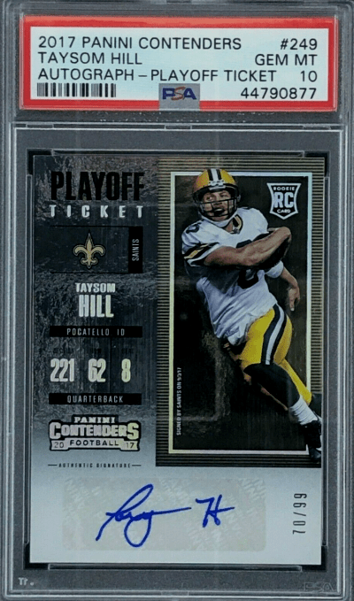 Best Taysom Hill rookie cards