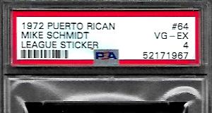 Mike Schmidt rookie cards