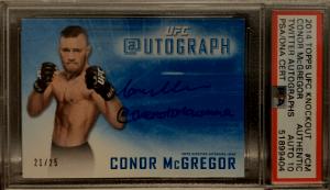 Conor McGregor Rookie Card Checklist