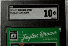 jaylen brown rookie card donruss