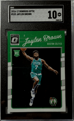 jaylen brown rookie card donruss