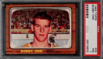 1966 Bobby Orr Hockey Card