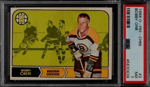 Bobby Orr Hockey Cards Checklist