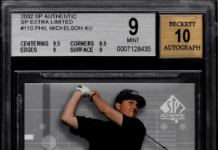 Best Phil Mickelson Golf Rookie Cards