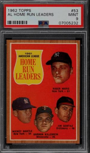 Roger Maris Baseball Card price