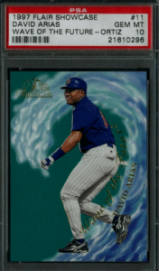 David Ortiz Rookie Card Price