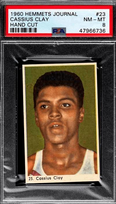 Muhammad Ali Autograph Card