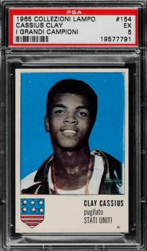 1965 Collezioni Lampo I Grandi Campioni Cassius Clay Muhammad Ali