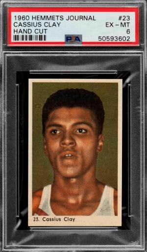 Cassius Clay Rookie Cards
