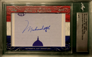 Muhammad Ali Autograph Cards