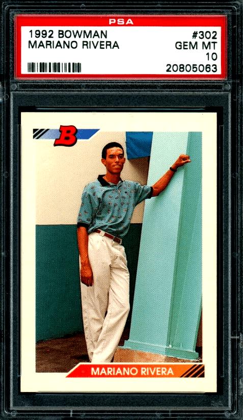Best Mariano Rivera Baseball Cards