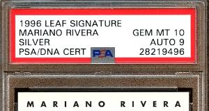 MARIANO RIVERA baseball card