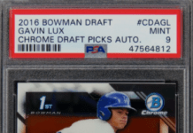 Buy low baseball rookie cards to invest in
