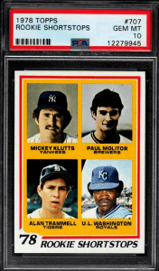 Most Expensive 1978 Topps Baseball Cards
